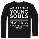 Myka Relocate - Young Souls MMXV (Heather Black) (Sweat) [入荷予約商品]