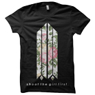 Shoot The Girl First - Floral Logo [入荷予約商品]