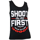 Shoot The Girl First - Chainlink (Tank Top) [入荷予約商品]