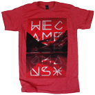 We Came As Romans - Mountain Range (Heather Red) [入荷予約商品]
