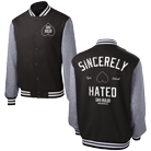 Shai Hulud - Sincerely Hated (Black/Grey) (Varsity Jacket) [入荷予約商品]