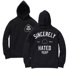 Shai Hulud - Sincerely Hated (Black/White) (Hoodie) [入荷予約商品]
