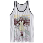 Protest The Hero - Yellow Teeth (White/Black) (Tank Top) [入荷予約商品]