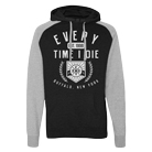 Every Time I Die - 1998 (Black/Heather Grey) (Lightweight Hoodie) [入荷予約商品]