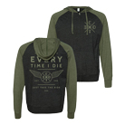 Every Time I Die - Ride (Heather Black/Green) (Lightweight Hoodie) [入荷予約商品]