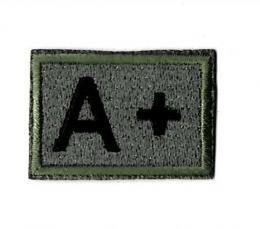 ワッペン  血液型 A+