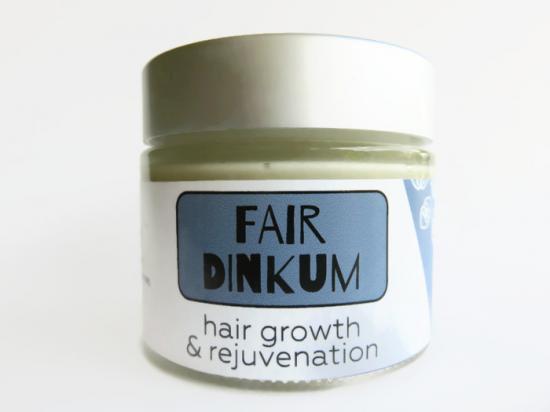 シアバターとろける★yakula ブッシュブレンドFAIR DINKUM(髪の成長と若返りに)70g