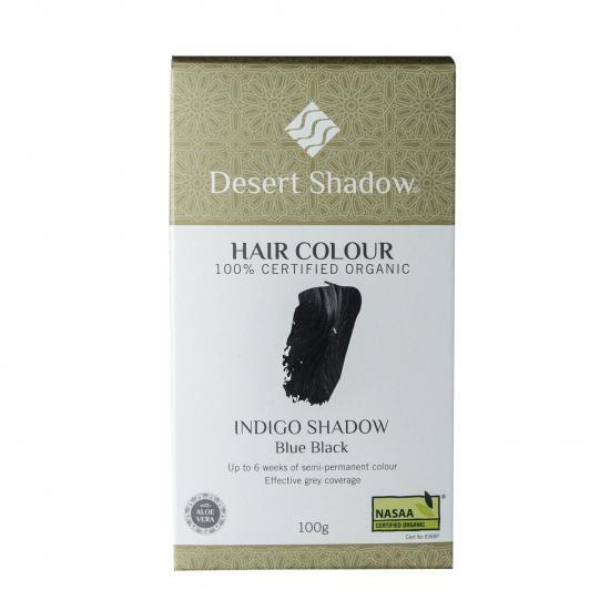 繰り返すほど美しい髪になるヘアカラー!Desert Shadowインディゴブラック(ブラック)100g