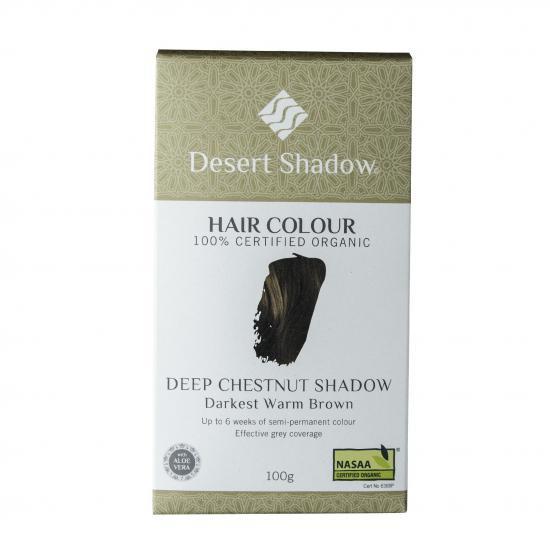 繰り返すほど美しい髪になるヘアカラー!Desert Shadowディープチェスナッツシャドウ(温かみのあるブラウン)10…
