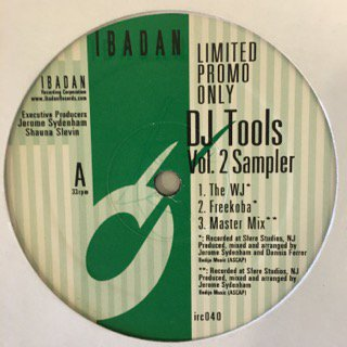 "V.A. - DJ TOOLS VOL.2 SAMPLER - 12"" (IBADAN)"