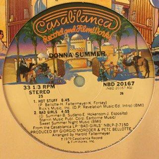 "DONNA SUMMER - HOT STUFF / BAD GIRLS - 12"" (CASABLANCA)"