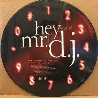 """ZHANE - REQUEST LINE / HEY MR. D.J. (PROMO PICTURE DISC) - 12"""" (MOTOWN)"""