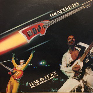 BROTHERS JOHNSON - FUNK IN PEACE- LP (A&M)