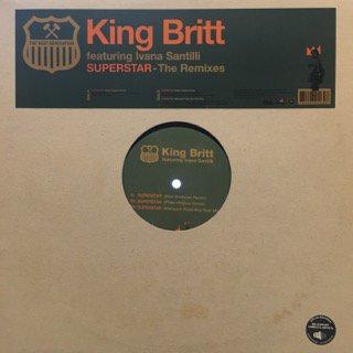 """KING BRITT - SUPERSTAR - 12"""" (RA..."""