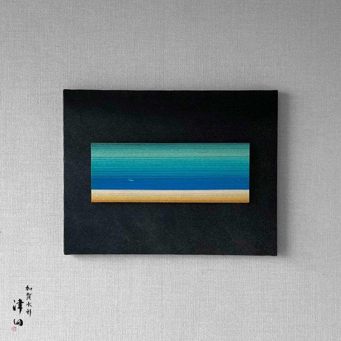 ko0181 水引壁掛けパネル ブルー