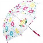 子供傘 フラワーポッケ 1個