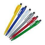 ノック式シンプルボールペン 1個
