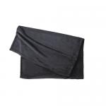フリースブランケット(巾着付)/ブラック