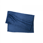 フリースブランケット(巾着付)/ネイビー