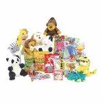 おもちゃとお菓子のギフトセット