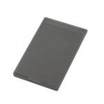 ポケットミラー フロスト/ブラック(フルカラー印刷費用含む)