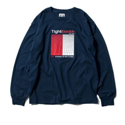 Tightbooth / GRID LONG SLEEVE / NV
