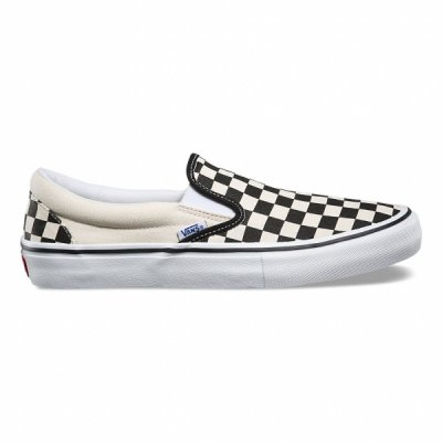 VANS_SLIPON PRO / CHECKERBOARD BLACK/WHITE