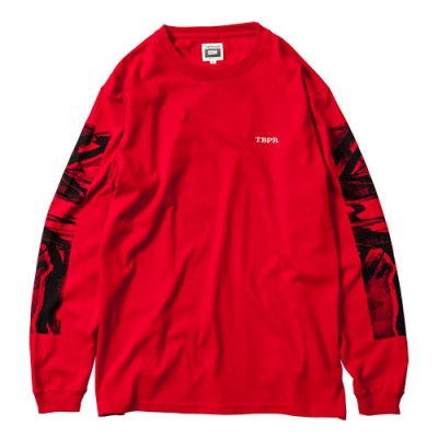 Tightbooth / NOISE LONG SLEEVE / RED