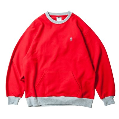 Tightbooth / CONTRAST CREW SWEAT / 5color