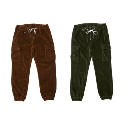 EVISEN / STRAIGHT OUTTA BED CORD PANTS / 2color