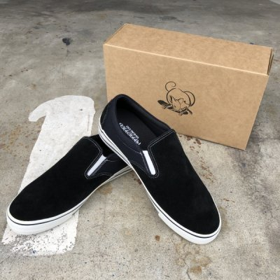 POSSESSED / SLIP-ON [ SKATE GANG ] SUEDE x CANVAS
