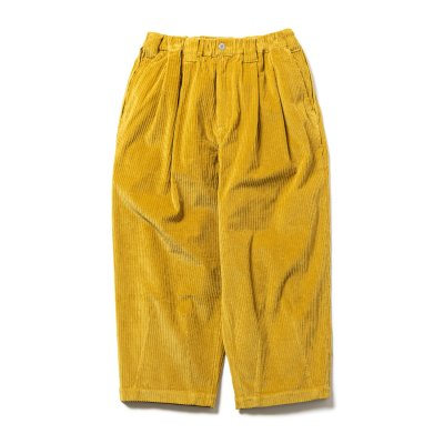 tight booth / CORD BAGGY PANTS / 4colors