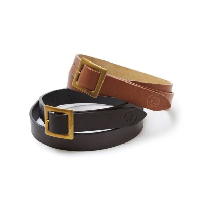 EVISEN / WYE LEATHER BELT / 2colors
