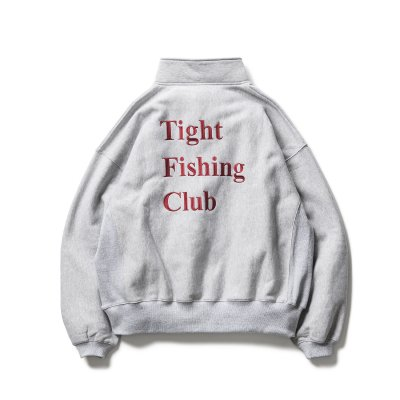 TIGHTBOOTH x CHAOS FISHING CLUB / FISHING SNAP SWEAT / 2colors