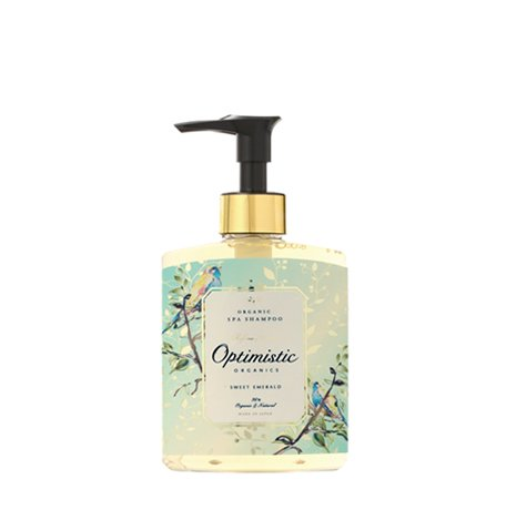 Sweet Emerald | Organic Spa Shampoo / オーガニック・スパシャンプー 200mL <スウィート エメラルド>