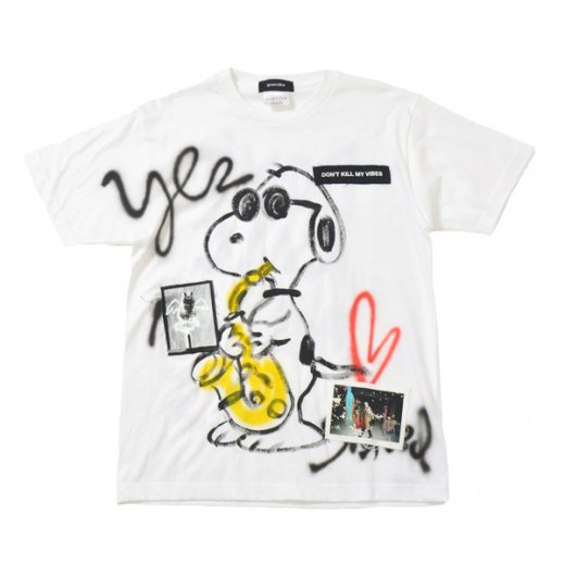 Guernika|ゲルニカ通販|ハンドペイントTシャツ|大阪正規取扱店舗|ホワイト0711-2