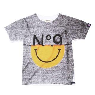OVER THE STRiPES|オーバーザストライプス 通販|大阪正規取扱店|Altopino限定商品 9周年別注切り替えプリントTシャツ KIDSサイズ|グレー