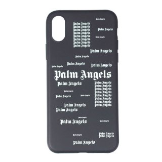 <img class='new_mark_img1' src='https://img.shop-pro.jp/img/new/icons1.gif' style='border:none;display:inline;margin:0px;padding:0px;width:auto;' />Palm Angels|パームエンジェルス メンズ通販|大阪正規取扱店舗|最短翌日着|ウルトラロゴiPhone Xケース|ブラック