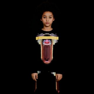 <img class='new_mark_img1' src='//img.shop-pro.jp/img/new/icons16.gif' style='border:none;display:inline;margin:0px;padding:0px;width:auto;' />【40%OFF】 Marcelo burlon Kids(マルセロバーロン キッズ)MANDRILLOスウェット /ブラック
