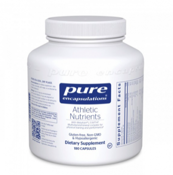 (取)Athletic  Nutrients 180 カプセル pure encapsulations  [1]