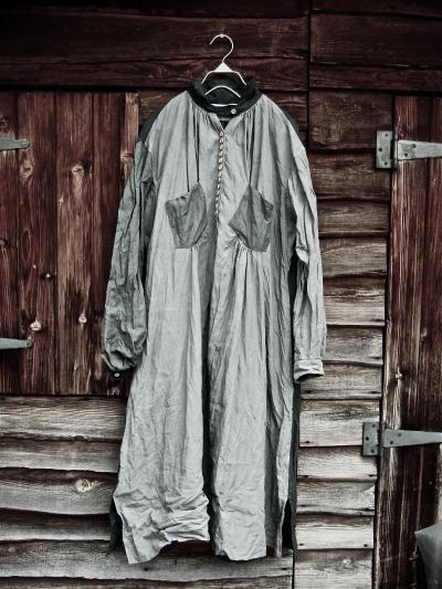 1890's 羊飼い アンティークリネンワンピース【HALLELUJAH】