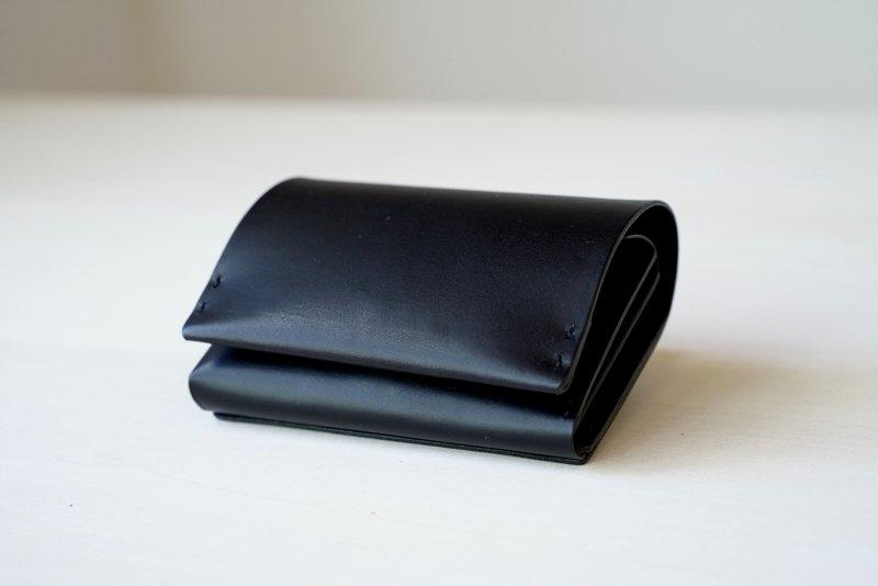 縦に仕舞う二つ折り財布