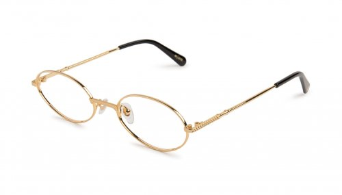 <img class='new_mark_img1' src='https://img.shop-pro.jp/img/new/icons47.gif' style='border:none;display:inline;margin:0px;padding:0px;width:auto;' />9five 40 24K Gold Clear Lens Glasses 40 / 24Kゴールド / クリアーレンズ / ナインファイブ