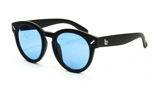<img class='new_mark_img1' src='https://img.shop-pro.jp/img/new/icons5.gif' style='border:none;display:inline;margin:0px;padding:0px;width:auto;' />MERCURY - sunglasses- matt black (frame) / clear blue(lens) サングラス / ラウンド/アイエフオー