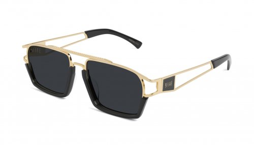 <img class='new_mark_img1' src='https://img.shop-pro.jp/img/new/icons5.gif' style='border:none;display:inline;margin:0px;padding:0px;width:auto;' />9five KINGPIN Black & 24k Gold Shades キングピン / ブラック&24Kゴールド / サングラス / ナインファイブ