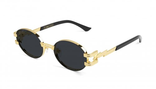 <img class='new_mark_img1' src='//img.shop-pro.jp/img/new/icons5.gif' style='border:none;display:inline;margin:0px;padding:0px;width:auto;' />9five ST.JAMES BOLT Black & 24k Gold Sunglasses セントジェームス / ブラック&24Kゴールド / サングラス / ナインファイブ