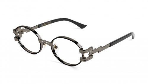 <img class='new_mark_img1' src='https://img.shop-pro.jp/img/new/icons5.gif' style='border:none;display:inline;margin:0px;padding:0px;width:auto;' />9five ST.JAMES BOLT Gunmetal Clear Lens Glasses セントジェームス / ガンメタル / クリアーレンズ / ナインファイブ