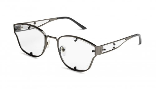 <img class='new_mark_img1' src='https://img.shop-pro.jp/img/new/icons5.gif' style='border:none;display:inline;margin:0px;padding:0px;width:auto;' />9five ORION Gunmetal Clear Lens Glasses  オリオン / ガンメタル / クリアーレンズ / ナインファイブ
