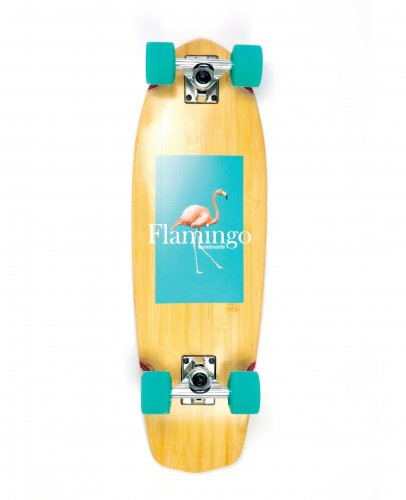 <img class='new_mark_img1' src='https://img.shop-pro.jp/img/new/icons5.gif' style='border:none;display:inline;margin:0px;padding:0px;width:auto;' />FLAMINGO CRUISER COMPLETE DECK - 8.7 x 28  フラミンゴ / クルージング / スケートボード / スケボー/