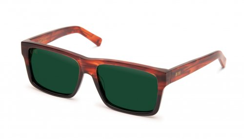 <img class='new_mark_img1' src='https://img.shop-pro.jp/img/new/icons47.gif' style='border:none;display:inline;margin:0px;padding:0px;width:auto;' />9five Caps Havana Vintage Green Sunglasses キャップス / ハバナ / サングラス / ナインファイブ